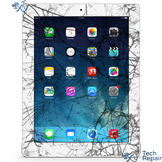 iPad 4 Cracked Screen Replacement