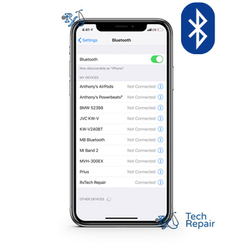 iPhone X Bluetooth Issues Repair