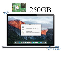MacBook Pro Hard Drive Replacement - 250GB